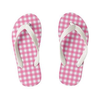 Kids pink printed designer FlipFlops Thongs