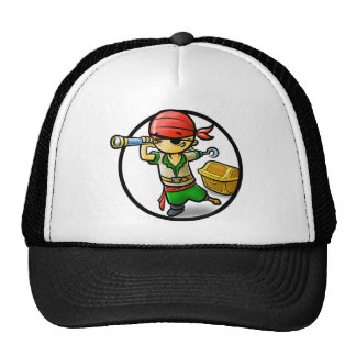 Kid's pirate clothing - Cute & Funny Trucker Hat