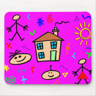 Kids Play Mouse Pad