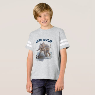 Kids' Playful Elephant Football Shirt