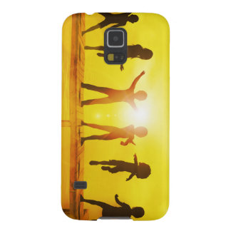 Kids Playing in the Summertime on a Pier Galaxy S5 Cases