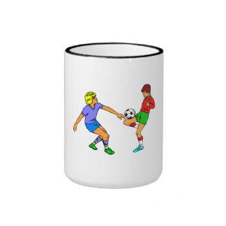 Kids Playing Soccer Mug