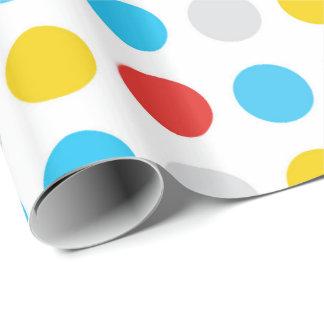 Kids Polka Dot Wrapping Paper