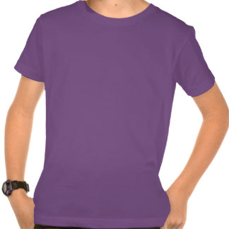 Kid's Purple Organic Shirt - USA