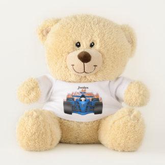 Kid's Race Car Flames Teddy Bear