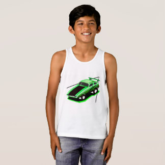 Kids Racing Car Tank Top