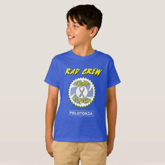 Kids Rad Crew Tripp Tough Pelotonia t-shirt