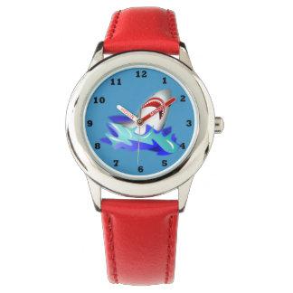 Kids Red Shark Watch