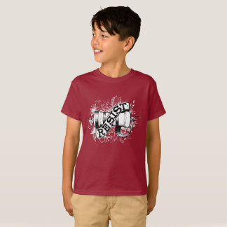Kids' Resist dark T-shirt