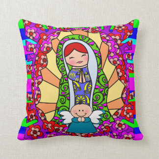 kid's room cushion,our lady of guadalupe cushions
