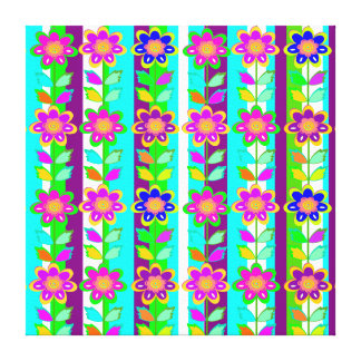 kid's room decor, Girls room,flowers Gallery Wrap Canvas