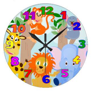Kids room wall clocks for Kids room clock