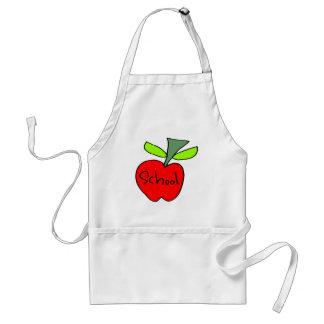 Kids School Apple Apron