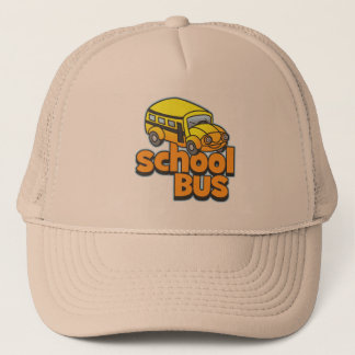 Kids School Bus Trucker Hat