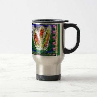 kids SCRABBLE art ; LOTUS bright symbols Mug