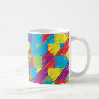 Kids Scribble Pattern Coffee Mug