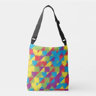 Kids Scribble Pattern Crossbody Bag