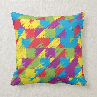 Kids Scribble Pattern Cushion