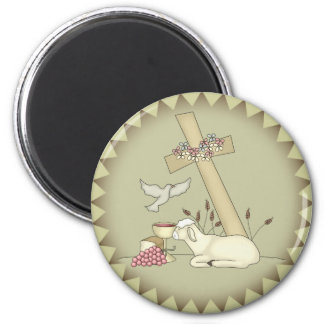 Kids Sheep T Shirts and Gifts 6 Cm Round Magnet