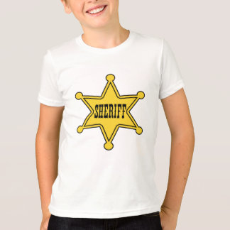 Kids Sheriff Badge Tee