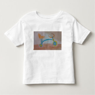 Kids shirt with tricycle