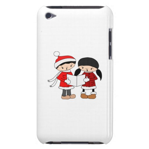 Kids Singing Christmas Carols Barely There iPod Cases