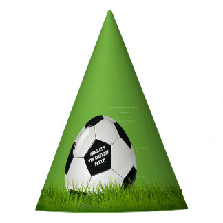 Kids Soccer Football Birthday Party Party Hat