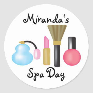 Kids Spa Party Stickers