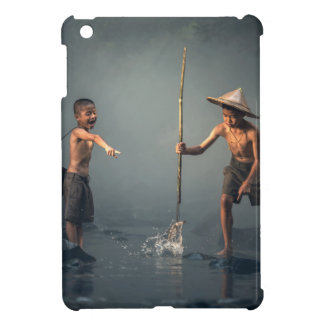 Kids Spear Fishng Cover For The iPad Mini