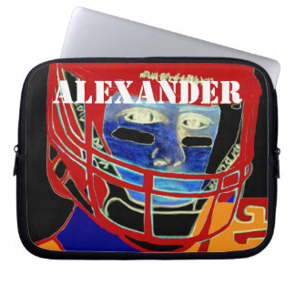 Kids Sports Football Laptop Cover Athletic Gift