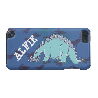 Kids stegosaurus blue ipod case