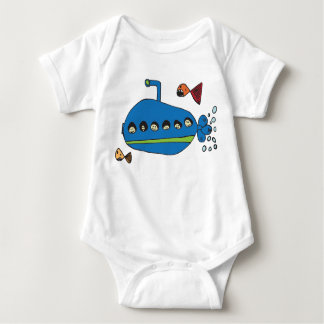 Kids Submarine Baby Bodysuit