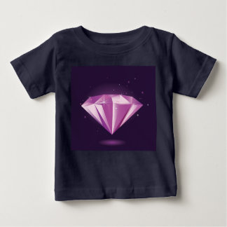 Kids t-shirt black with luxury Diamond