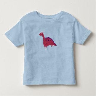 Kids t-shirt blue with DINO CUTIE