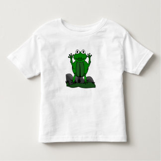 Kids T Shirt - Cartoon Animal Frog