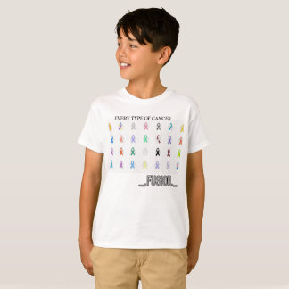 KId's T-Shirt Every type of Cancer