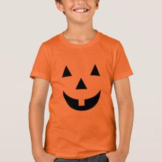 Kids T-Shirt-Halloween Pumpkin Face T-Shirt