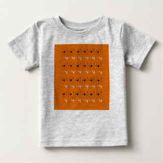 Kids t-shirt with brown elements