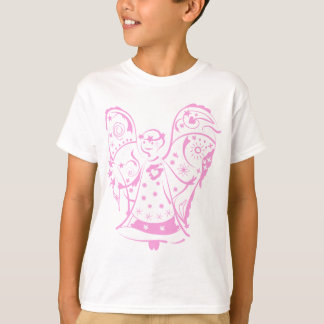 Kids T-shirt with decorative angel