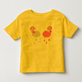KIDS T-SHIRT WITH HANDDRAWN ANGELS