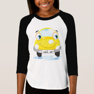 Kids t-shirt with Happy car character