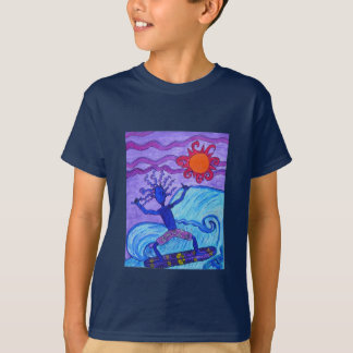 Kids Tee - Catching A Wave