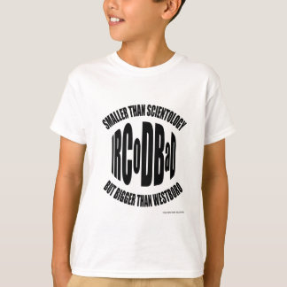 Kid's tee (light) Official Wear of the IRCoDBaD