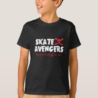 KIDS TEE - Skate Avengers - dark