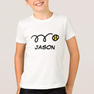 Kids tennis clothes | Personalized name t-shirt