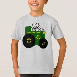 KIDS TRACTOR GIRL T-SHIRT