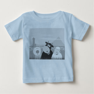 KIDS TSHIRT blue with Animals