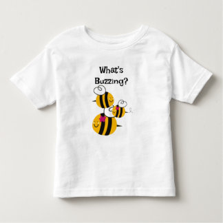 Kid's Tshirt Bumble Bees Buzzing Insects