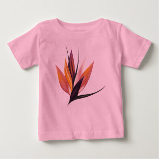 Kids tshirt with exotic Floral art