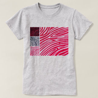 Kids tshirt with safari pattern